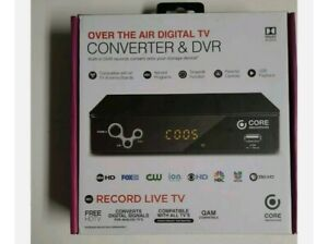 New in Box Core Innovations Over The Air Digital TV Converter Box - CTCB105