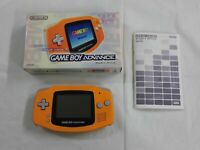 Z4289 Nintendo Gameboy pocket console Orange Japan GB w/box x