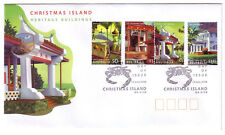 "2006 FDC Christmas Island. Heritage Buildings. Pict.PMK ""CHRISTMAS ISLAND"""