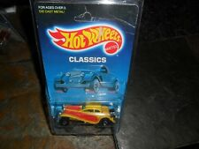 1988 Hot Wheels Classics '37 Bugatti Yellow~Red Unopened Package BW