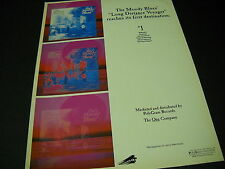 MOODY BLUES 1981 Promo Display Ad LDV Reaches Its First Destination