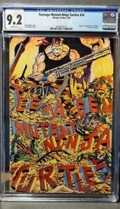 Teenage Mutant Ninja Turtles 34 CGC  9.2 NM-  NEW CASE