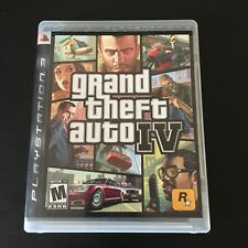 Grand Theft Auto IV GTA 4 Sony PlayStation 3 PS3 Complete Free Shipping