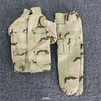"1:6 21st Century WWII Desert Camo Uniform For 12"" GI Joe The Ultimate Soldier"