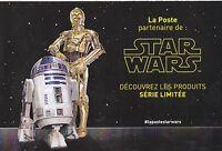 STAR WARS - BROCHURE PUBLICITAIRE 2015 - LA POSTE (FRANCE) - TBE