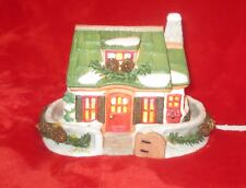 Seasonal Specialties Authentic Christmas Valley The Bear Cottage Porcelain