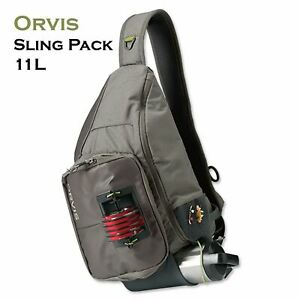 Orvis Sling Pack Sand | 11L - Fly Fishing Bag - Free Shipping