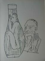 Max BECKMANN (1884-1950) -  Holzschnitt