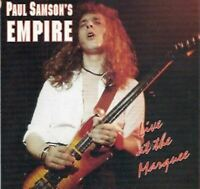 PAUL SAMSON'S EMPIRE live at the marquee (CD Album) Heavy Metal, Rock, very good