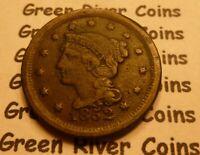 1852 Large Cent   #LP52