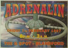 Adrenalin @ The G Spot, Blandford, 7/2/97 Rave Flyers