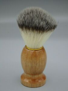 Men's Shaving Brush Natural Boar Hair Bristle with Wood Handle Vintage Style NEW