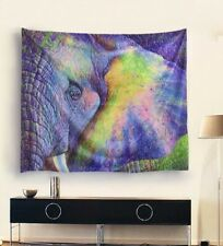 Beach Wear Art Pareo Wrap Sarong Wall Tapestry Blanket Elephant Zebra Flamingo