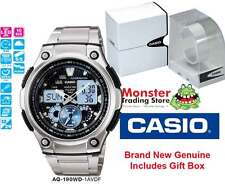 CASIO WATCH AQ-190WD-1AVDF AQ-190 AQ190  12 MONTH WARANTY
