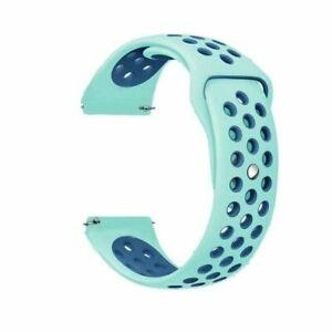 For Samsung Galaxy Watch 41/45mm 42/46mm Gear S3 Silicone Sport Band Wrist Strap