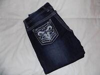 NEW! Women,s rue21 Jeans Size 5/6 Reg.Curvy Low Rise Boot Cut Lot#101