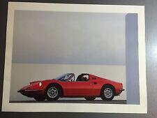 1974 Ferrari 246 Coupe Print, Picture, Poster, RARE!! Awesome L@@K