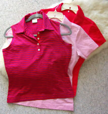 3 X Pink Nike Golf Dri-Fit Sleeveless tops - Sz S (4-6)- Excellent !