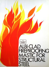 ALBI-CLAD Catalog NON ASBESTOS Sprayed Fireproofing Mastic Cities Service Co '72