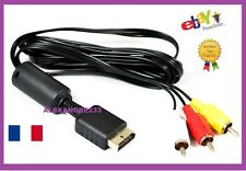 Cordon Cable VIDEO POUR playstation one PS1 PS2 PS3 1M80 - VENDEUR PRO - SUIVI
