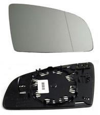 Spiegelglas Außenspiegel Rechts Heizbar Asphärisch Chrom AUDI A3 A4