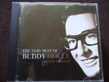 The Very Best Of Buddy Holly And The Crickets CD.Disc Is In Ex.Condition.