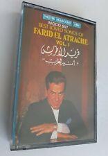 "FARID EL ATRACHE ""best loved songs"" - K7 / cassette audio / Tape"