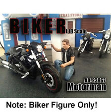 "American Diorama Biker Figure ""Motorman"" 1:18 Scale"