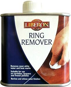 Liberon Ring Remover 125ml Removes Most Water and Heat marks from Polished Wood
