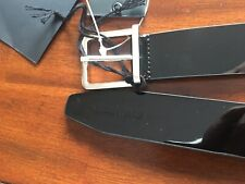 DSQUARED2 MEN LOGO PATENT LEATHER BELT MADE IN ITALY (TG 100 ) $ 325
