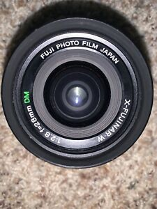 Fuji Photo Film, X-Fujinar W 2,8/ 28mm DM Analog.