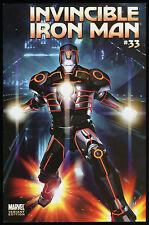 Iron Man 33 Tron Variant Comic Brandon Peterson Tron Legacy Movie Video Game