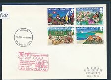 90131) Olympiade SF ANZ Solomon Islands - Nagano 7.2.98, cover Stpl red rot