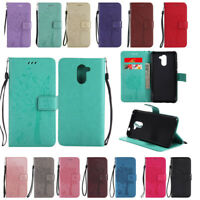 For Huawei Y5/Y6/Y7 Prime 2018 Wallet Flip PU Leather Card Slot Stand Case Cover