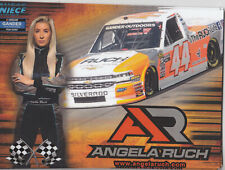 2019 ANGELA RUCH #44 THE RUCH LIFE NASCAR GANDER OUTDOORS TRUCK SERIES POSTCARD