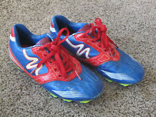 MITRE SOCCER CLEATS SIZE YOUTH 13 RED WHITE & BLUE