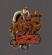 Pin's Rodéo cheval / Stampede de Calgary (Canada)