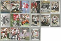 New Orleans Saints 16 card 2000-2017 legends lot-all different