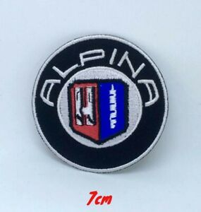 Alpina Automobile Logo Iron on Sew on Embroidered Patch #1331