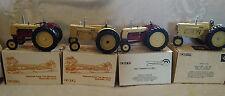 4 National Farm Toy Museum  Scale Cockshutt Tractors 40 50 560 570 NIB