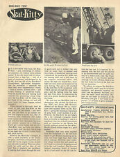 Vintage 1965 Skat-Kitty Mini-Bike Test Report