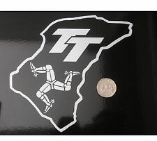 Isle of Man circuit graphic sticker