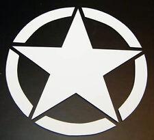 JEEP Willys STAR TJ JK CJ Wrangler Oscar Mike US Army Decal Sticker PICK COLOR