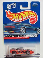 HOT WHEELS 2000 CD CUSTOMS SERIES PONTIAC BANSHEE #032 ORANGE