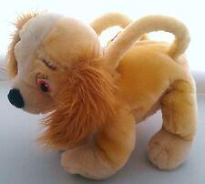 DOG PURSE Disney Lady&Tramp PLUSH STUFFED ANIMAL HANDBAG w/ZIPPER COCKER SPANIEL
