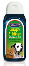 Johnsons Dog and Cat Shampoo for Puppy Puppies and Kittens Mild 200ml