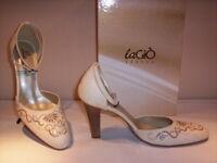 Scarpe decoltè decolletè eleganti La Giò donna shoes tacchi alti beige 36 37 38