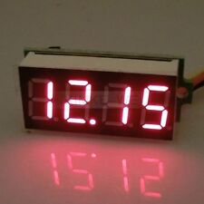 "DC 0-33V Red 0.36"" LED 4 Digit Digital Voltmeter Voltage Panel Meter"