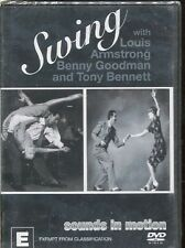 SWING WITH LOUIS ARMSTRONG BENNY GOODMAN AND TONY BENNETT - DVD