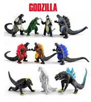 Godzilla 10 Piece Figures Cake Toppers Set Toy Lot Bundle Set A  13